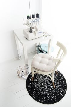 Materials: 2 white LACK side tables,