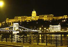 Budapest at night...