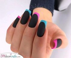 AND HOTTEST FRENCH NAIL ART DESIGNS IDEAS 2019 : French manicure creates a long lasting visual effect on the fingers, and now French manicures are derived from a variety of color variations, and there are a variety of nail inspirations that are i Cute Acrylic Nails, Acrylic Nail Designs, Nail Art Designs, Nails Design, French Nails, French Manicures, Nail Lacquer, Nail Polish, Perfect Nails