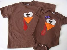 Little Turkey Thanksgiving onesie or shirt