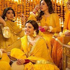 Indian Bridal Photos, Indian Wedding Gowns, Pakistani Formal Dresses, Ceremony Dresses, Pakistani Wedding Dresses, Bride Dresses, Mehndi Outfit, Mehndi Dress, Mahira Khan Dresses