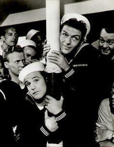 "Gene Kelly & Frank Sinatra in ""Anchors Aweigh"""