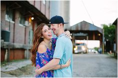 Chase & Kelsie's Downtown Mckinney Engagement Session