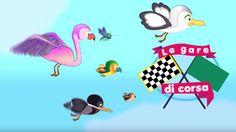 Gare di corsa fra uccelli? chi sarà il più veloce? Nella cucina dei piccoli c'è sempre qualche sorpresa... Tornano le gare di corsa! Anche un cartone animato sulla competizione può essere educativo! Vi piacciono le gare fra animali? In questa belliss #cartonianimati #bambini #volatili