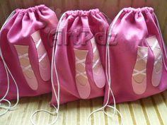 ArtPaz by Tania Paz: -Bailarina Ballerina Birthday Parties, Ballerina Party, Diy Backpack, Drawstring Backpack, Dance Crafts, Ballet Bag, Balerina, Kids Bags, Diy Fashion