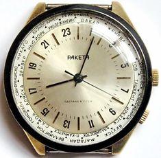 Raketa 24 hour military watch.