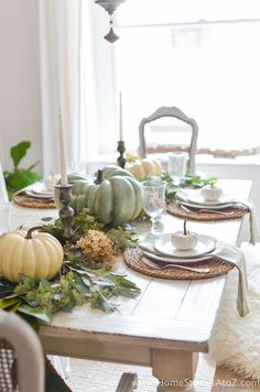 Neutral Early Fall Home Tour | Early fall