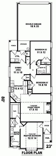 House Plan chp-28849 at COOLhouseplans.com