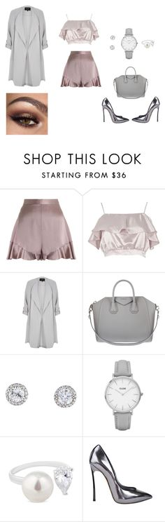 """""""fab&chic"""" by joana25 on Polyvore featuring Zimmermann, River Island, Givenchy, Topshop, Simply Silver and Casadei"""