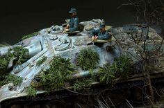 Dioramas and Vignettes: The Hunteress. Spring 1945, photo #23