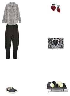 """""""Grace"""" by zoechengrace on Polyvore featuring Vivienne Westwood Anglomania, Equipment, Anna K, Givenchy and Betsey Johnson"""