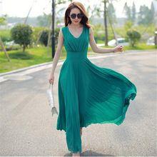 SZMXSS Summer Maxi Dresses Fashion Sleeveless White Green Yellow Boho Bohemian Beach Chiffon Long Dress Plus Size 5XL Vestidos   Tag a friend who would love this!   FREE Shipping Worldwide   Buy one here---> http://bohogipsy.store/products/szmxss-summer-maxi-dresses-fashion-sleeveless-white-green-yellow-boho-bohemian-beach-chiffon-long-dress-plus-size-5xl-vestidos/