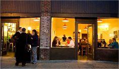 Delancey – pizzeria in Ballard, Seattle. Wonderful pizza, beautifully minimal interior.