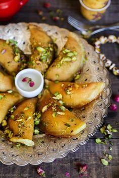 Atayef (Middle Eastern pancakes)
