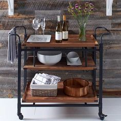 Whether you're living urban or suburban, you can never go wrong with a bar cart.