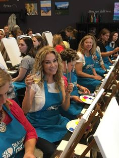 This past weekend, Kathie Lee Gifford got her paint and sip on at Pinot's Palette, Stamford! Pinot's Palette has been around since and with as many locations as we have across the U. Kathie Lee Gifford, Team Building Events, Paint And Sip, Famous Stars, Fundraising Events, Paint Party, Celebs, Celebrities, Girls Night Out
