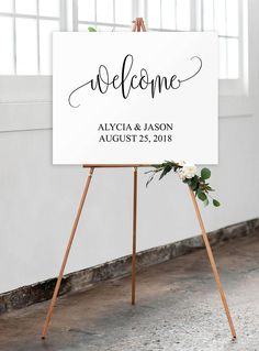 Landscape Wedding Welcome Sign, Welcome Wedding #weddings #invitation @EtsyMktgTool http://etsy.me/2z9Aq4P #weddingwelcomesign #weddingsign