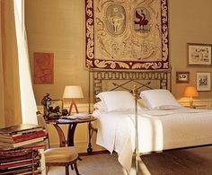 Jacques Grange Paris flat bedroom