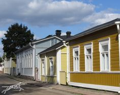 Loviisa, Finland Wooden Houses, Dream House Exterior, Building Materials, Log Homes, Homeland, Old Town, My Dream Home, Adventure, Architecture