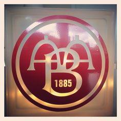 AaB fodbold lampe