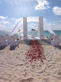 El mejor lugar para una boda en la playa / Best place for a beach wedding