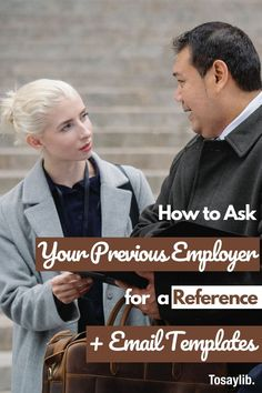 Seeking new opportunities while you are still working is common and you may need a reference. It is advisable to ask for it from your previous employer to avoid giving the current one a notion that you want to leave. #referenceletter Writing A Reference, Reference Letter, Quit Job, Made Me Glad, Email Writing, Quitting Job, Work Opportunities, When You Leave, Best Positions