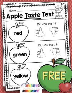 Preschool Apple Theme, Preschool Classroom, Preschool Apple Activities, Preschool Apples, Kindergarten Apple Theme, Apple Theme Classroom, Fall Preschool Science, Summer Science, Kid Science