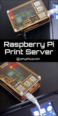Raspberry Pi Print Server Tutorial How to setup a Raspberry Pi print server that's perfect for older style printers that can only be connected to via a USB cable. Diy Tech, Cool Tech, Electronics Projects, Computer Projects, Hobby Electronics, Linux, Arduino Programming, Projetos Raspberry Pi, Raspberry Computer