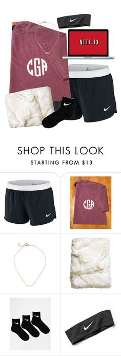 """My life be like"" by lo-wren ❤ liked on Polyvore featuring NIKE and H&M"
