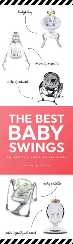Check out my top 5 picks of the best baby swings to lull your little one to sleep so you can have a few moments of peace and quiet!