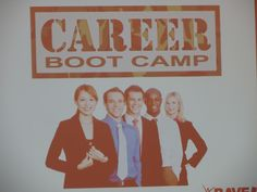 Career Boot Camp, one of the coolest & most insightful part of ScholarCon.
