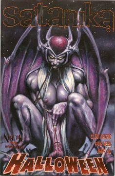 Danzig comic! Simon Bisley, Glenn Danzig, Dark Fantasy Art, Horror Art, Live Action, Hard Rock, Heavy Metal, Comic Art, Cartoon