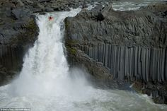 65ft waterfall..
