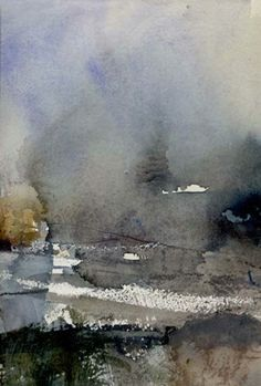 Landscape - watercolour on paper - Joanne Last