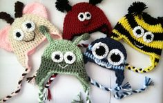 Basic Beanie Free Crochet Pattern. All sizes from preemie to adult, and in one…