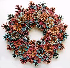 pin by eacart on handmade pine cone wreaths 421 best images about nature pinecone crafts on This Pin was discovered by Deb Find high-quality images, photos, and animated GIFS with Bing Images See the source image Pine Cone Art, Pine Cone Crafts, Wreath Crafts, Diy Wreath, Fall Crafts, Pine Cones, Holiday Crafts, Christmas Crafts, Crafts For Kids