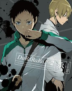 Durarara!! X2 Volume 2 DVD: Falling right into Izaya's trap and framed for the…
