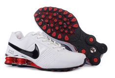 Buy Men s Nike Shox OZ Shoes White Silver Black Red Top Deals from Reliable Men s  Nike Shox OZ Shoes White Silver Black Red Top Deals suppliers.Find Quality  ... c77b6e4fd