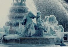 Frozen Fountains via ckylptyrasculpture.  i bleed just to drown you
