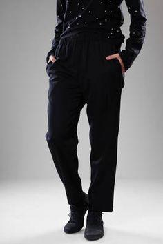 Long gabardine wool trousers - COMME des GARÇONS - COMME des GARÇONS