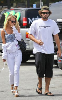Brody Jenner and Bryana Holly step out for lunch in Malibu.