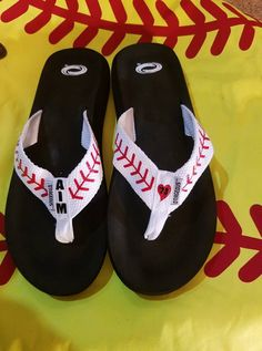 a414559be1bf24 Support your player... very comfortable flip-flops with your player s name