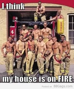 I think my house is on fire