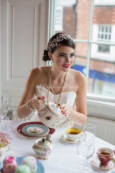 Vintage tea parties from Bellaboo and Beau.