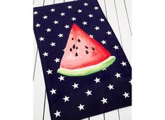 Make a statement this summer with a bold #watermelon towel from the #MarthaStewartCollection available only at Macy's.