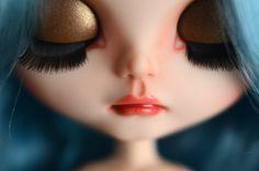 Custom Blythe doll Photography by Carla Pacheco, via Behance