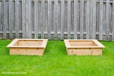 I'm going to show you exactly how to make a garden box in this tutorial. They're surprisingly easy to put together and look neat and tidy in the backyard.