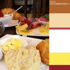 #farbinspiration #frühstück  #farbpalette #farbprofil #farbkombination #farbe #braun #gelb #butter #brot #himbeerrot #rot #weiß #brown #yellow #raspberry #red #white #bread #colorpalette #colourpalette #inspiration #color #colour #breakfast #deluxe
