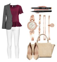 """""""Untitled #451"""" by kolo-k on Polyvore featuring Anne Klein, Wallis, French Connection, Girls On Film, Maiden Lane, NYX, Marc Jacobs and Bobbi Brown Cosmetics"""