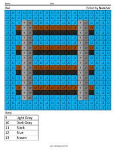 Minecraft Color By Number Coloring PagesPokemon